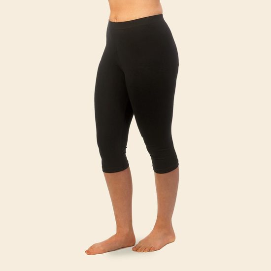 ... organic cotton capri leggings. image 1 ITRQMLK