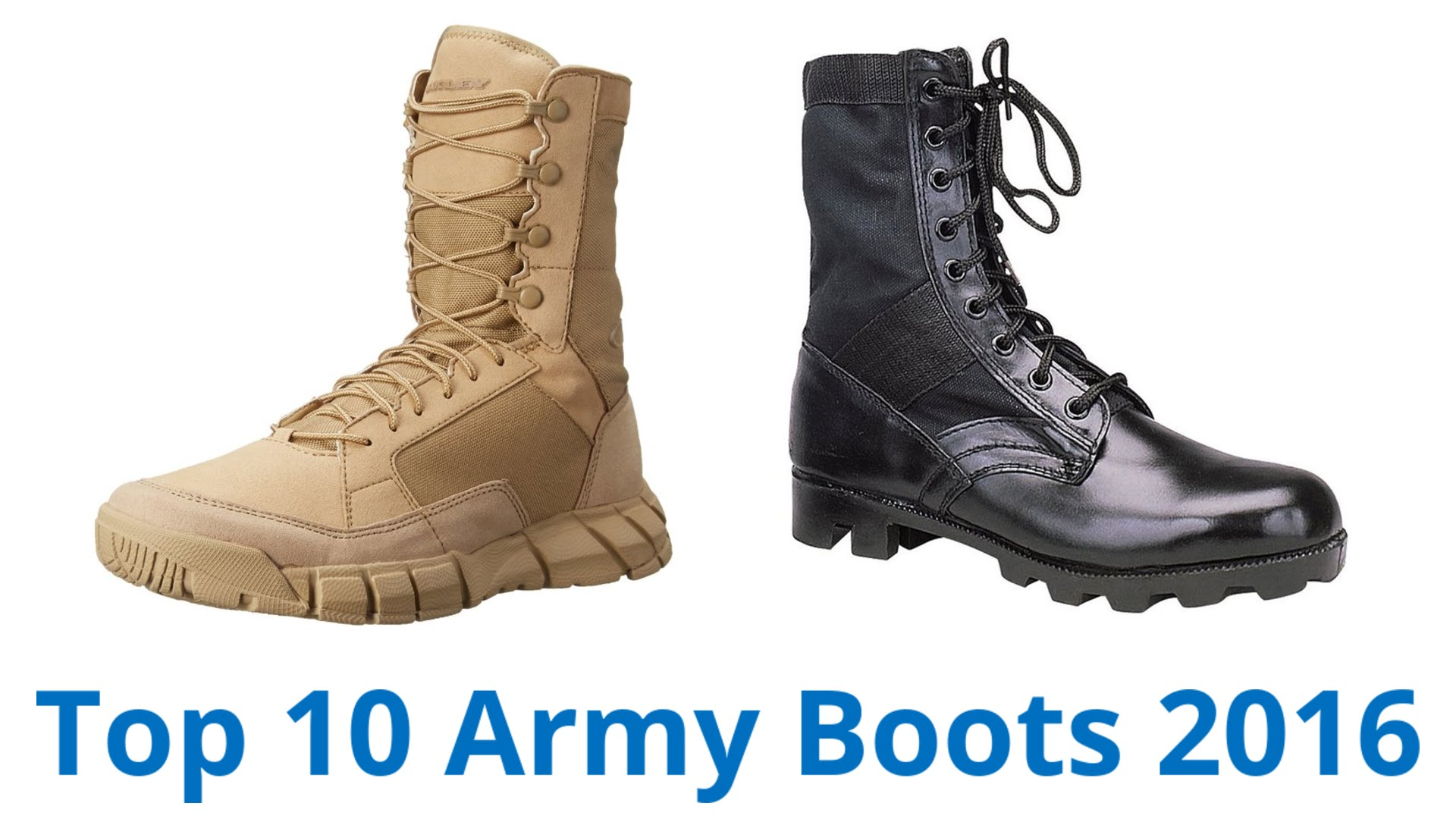 10 best army boots 2016 - youtube CPHZFED
