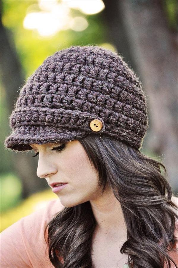 10 easy crochet hat patterns for beginners OKZITFY