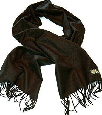 100%cashmere scarf--80 rich colors! super soft (black) XHCLEZK