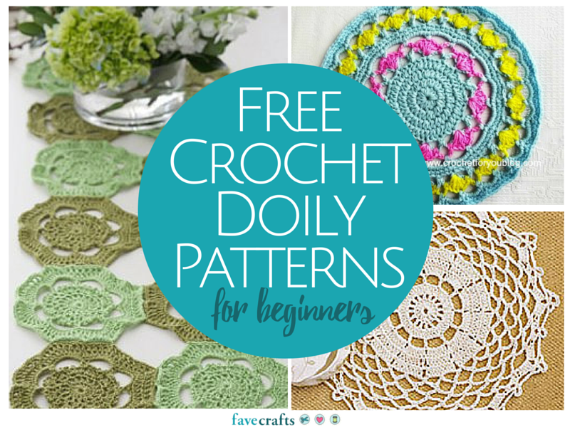 13 free crochet doily patterns for beginners | favecrafts.com ZQJXEYT