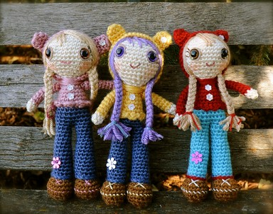 15 free #crochet doll patterns - on moogly! GKFVTSX