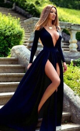 2017 custom made sexy prom dress, prom dress with long sleeves, prom dress  with KMEAGDZ