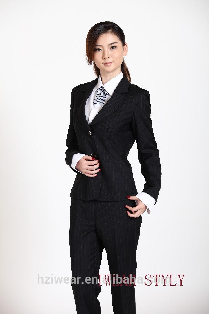 2pcs business suits for women / ladies suits jaketu0026 pants - buy women  business MRVRNFQ