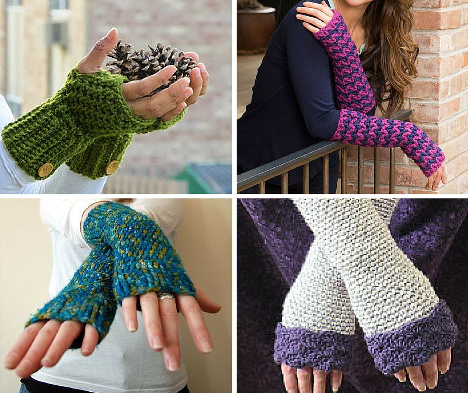 47 incredible crochet fingerless gloves | allfreecrochet.com LIAVNZR