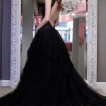 Tips on buying black wedding dresses