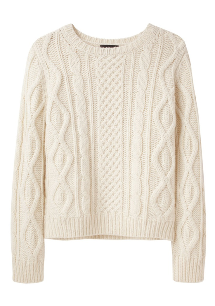 a.p.c. / irish cable knit sweater - whant this one in all colours ! VRAJTMG