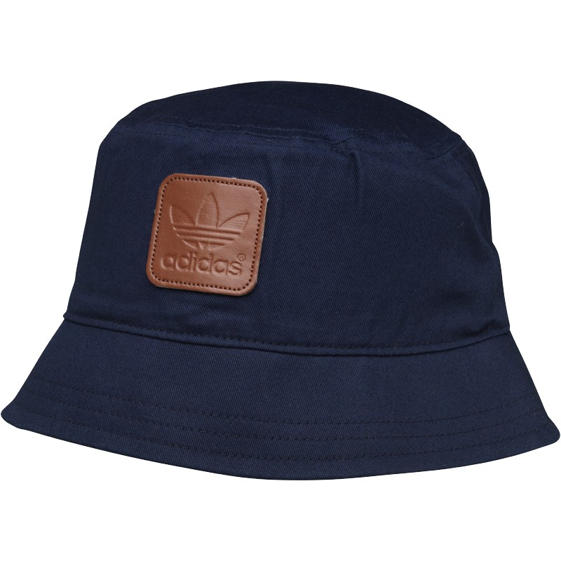 adidas bucket hat adidas originals mens trefoil bucket hat collegiate navy ZEQTWEN