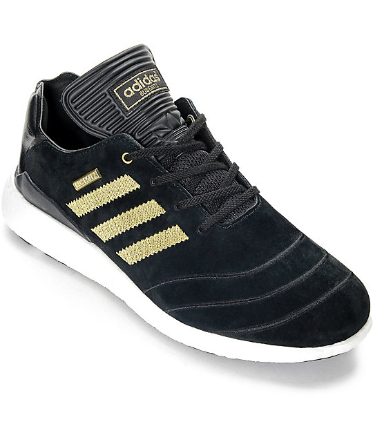 Adidas Busenitz adidas busenitz boost 10 year anniversary black u0026 gold shoes IGLUDFO