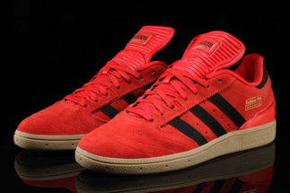 Adidas Busenitz red suede colorways are still going strong years after the whole u201cred  octoberu201d phase BPRQRQX