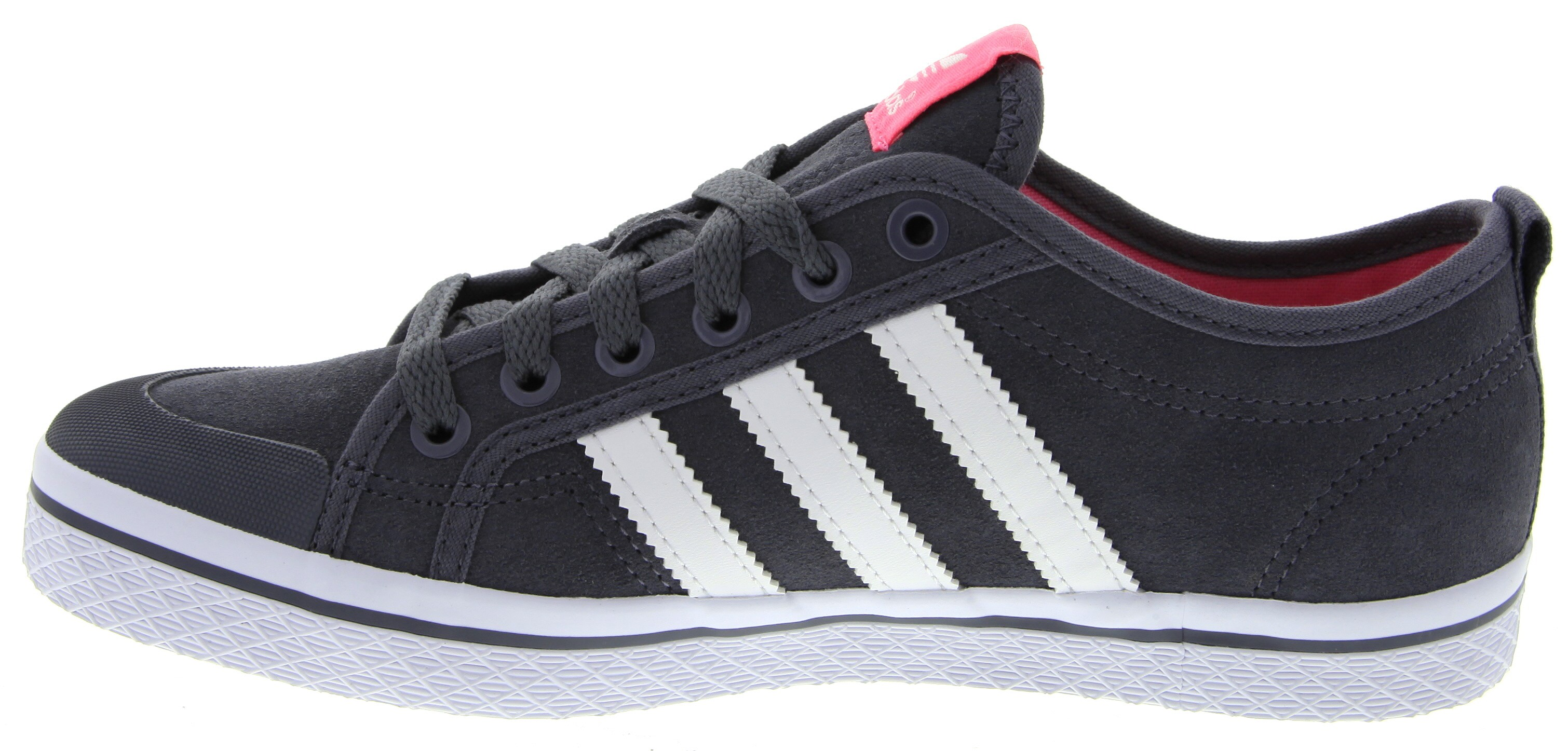 adidas honey ... honey stripes low casual shoes in grey ... ICLULKC
