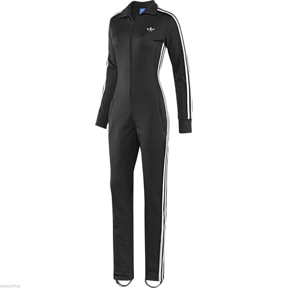 adidas jumpsuit new adidas originals x topshop limited edition all in one jumpsuit onesie  black OXTKMOC