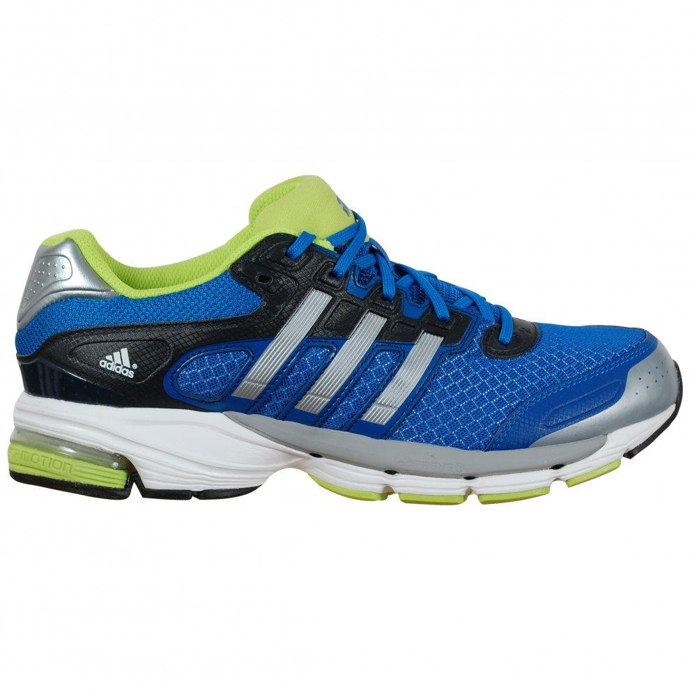 adidas lightster cushion menu0027s running trainers blue IHRKPMB