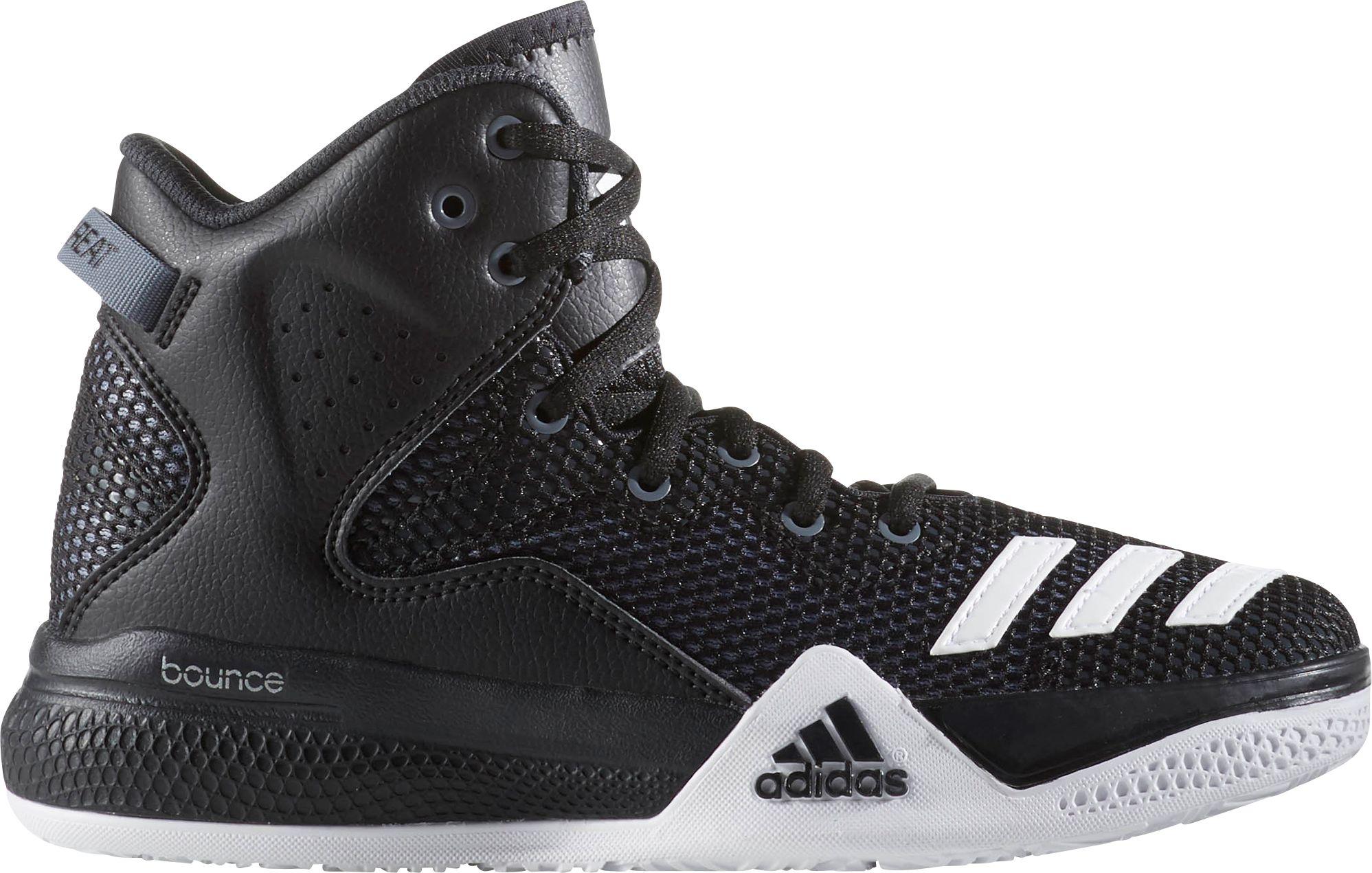 adidas menu0027s dual threat basketball shoes TXILTFQ