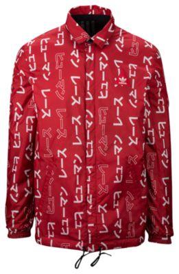 adidas originals jacket adidas originals pharrell williams hu rev. coach jacket - menu0027s PHPQPQO