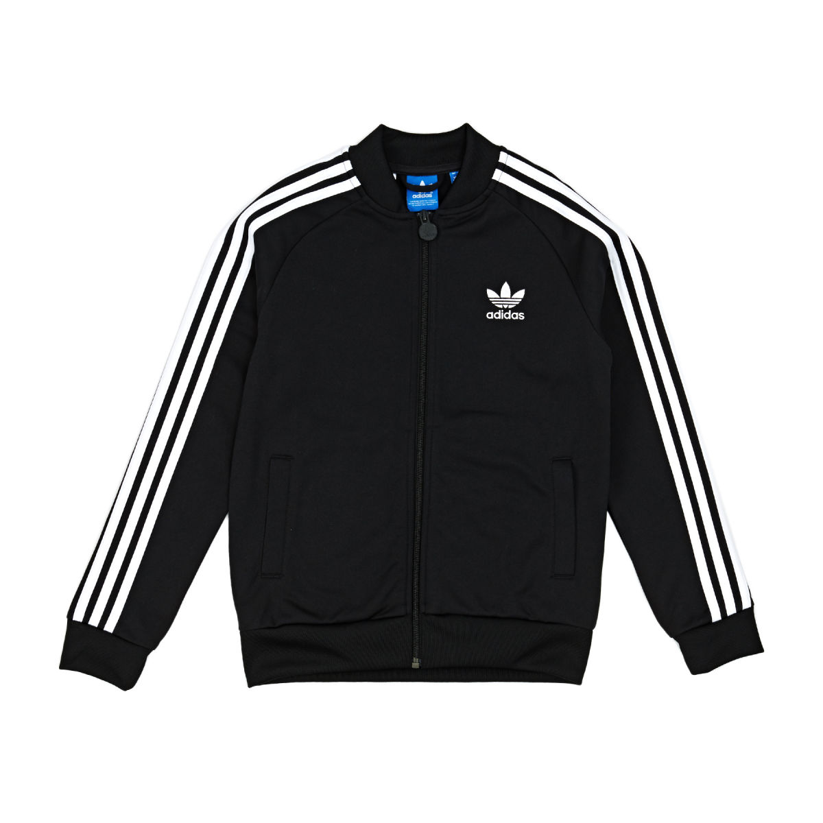 adidas originals jacket adidas originals superstar jacket - black/white VBOIWZJ