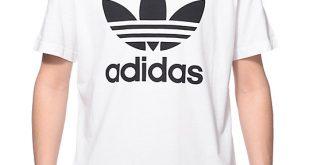 Adidas Shirt adidas originals trefoil white t-shirt IFHDKNB