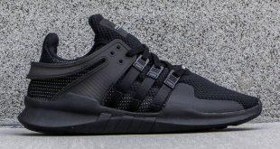 adidas shoes for men adidas men eqt support adv (black / core black / vintage white) ELOQNXM