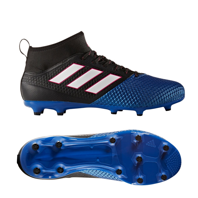 adidas soccer boots adidas ace 17.2 primemesh fg soccer cleats (black/white/blue) RFYVSXH