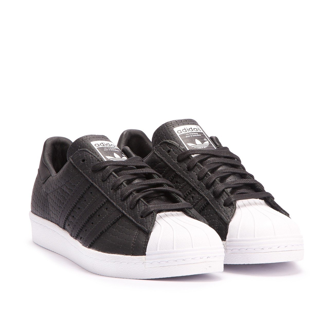adidas superstar 80s woven (black) GSXDQPR