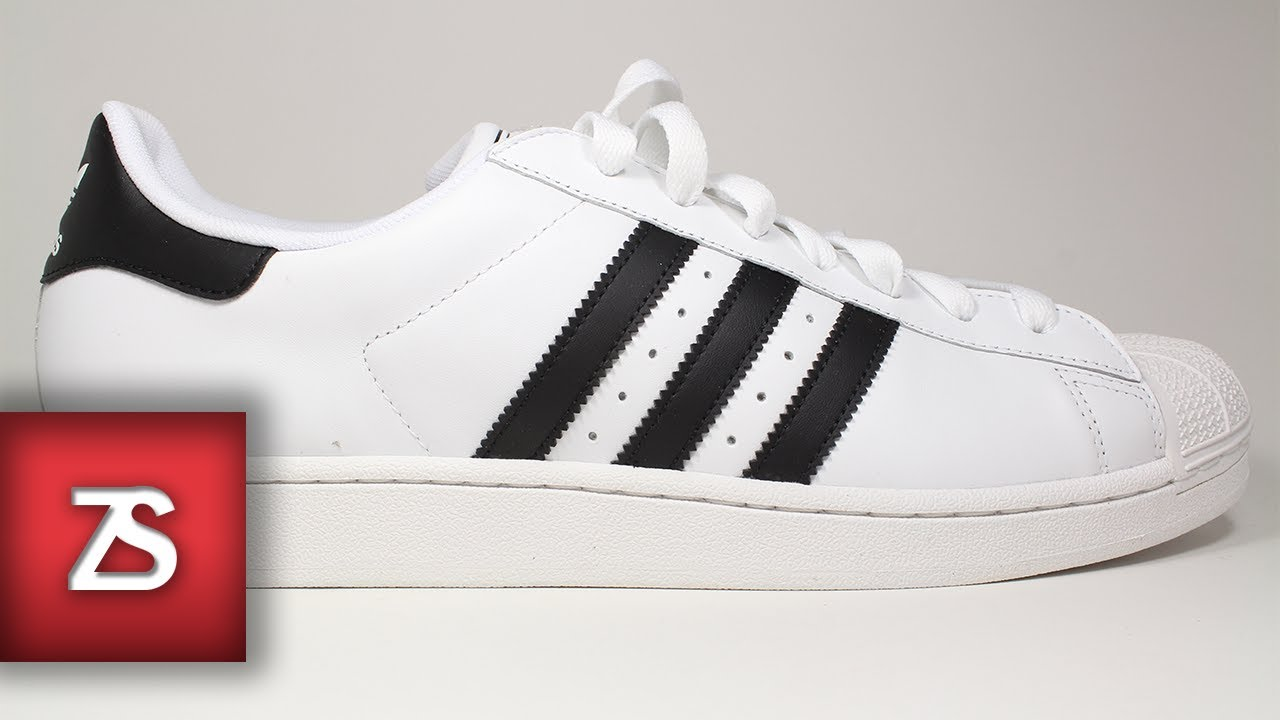 adidas superstar ii white black review - youtube MCNWFMB