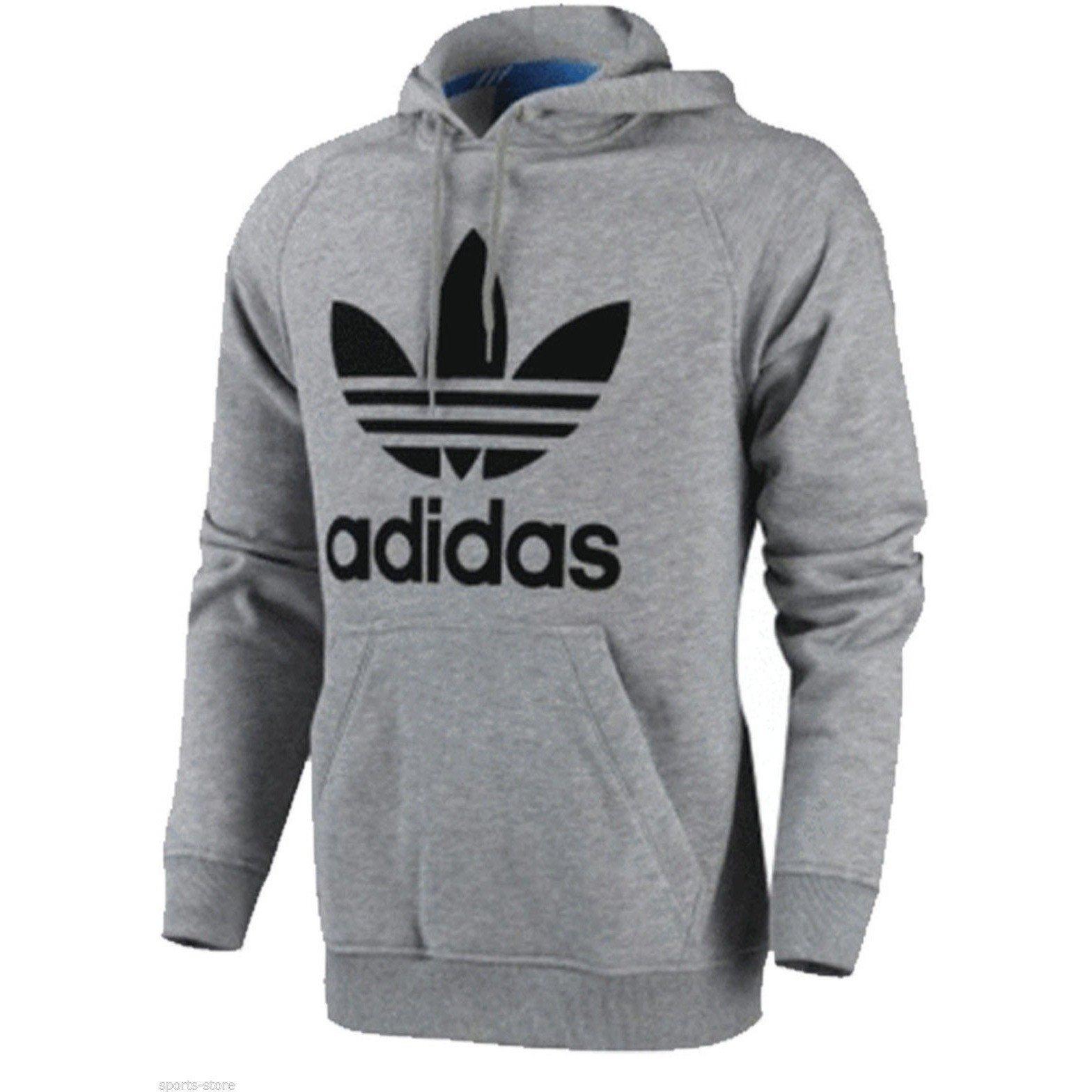 adidas sweatshirt ... men adidas originals trefoil hoody ... ZZJCVVT