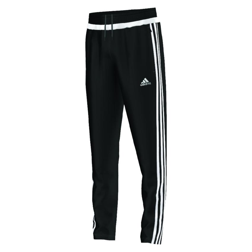 adidas training pants adidas youth tiro 15 training pants (black/white) IWEZVBF