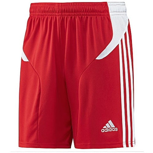 adidas youth campeon 11 soccer shorts (red/white) OCYSZRI
