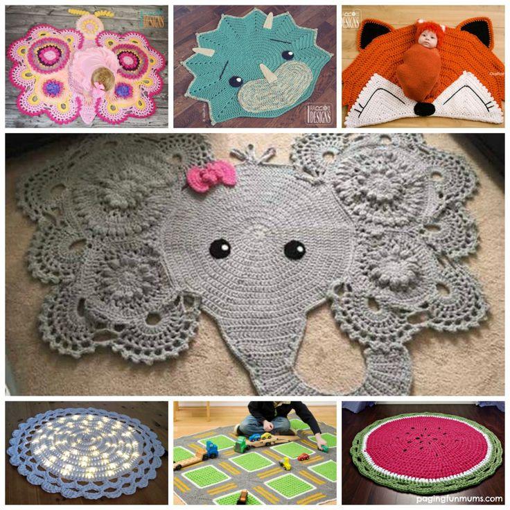 adorable crochet rug patterns and designs! BMBXKKI