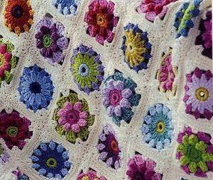afghan blanket image is loading crochet-pattern-beautiful-vintage-afghan-blanket-throw UOYXTZF
