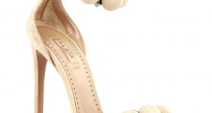 alaia shoes alaa alaia nude studded suede new light mauve/nude sandals FUADVTV
