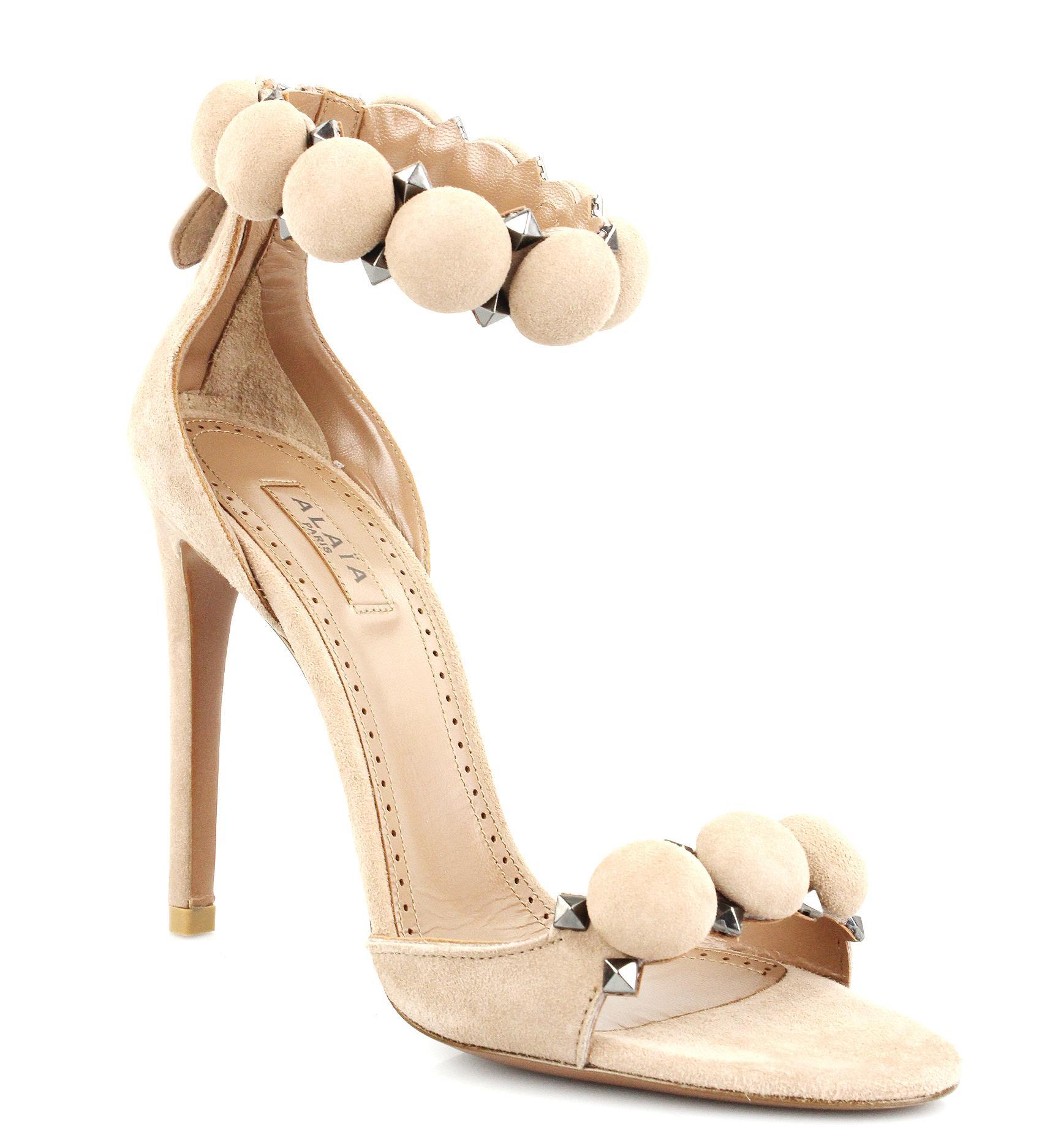 Beautiful ladies go for beautiful alaia shoes
