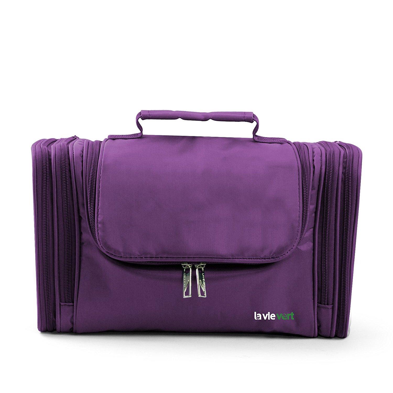amazon.com : lavievert toiletry bag / makeup organizer / cosmetic bag /  portable travel BHPZTUE