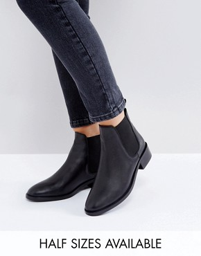 ankle boot asos absolute leather chelsea ankle boots BSOYMTO
