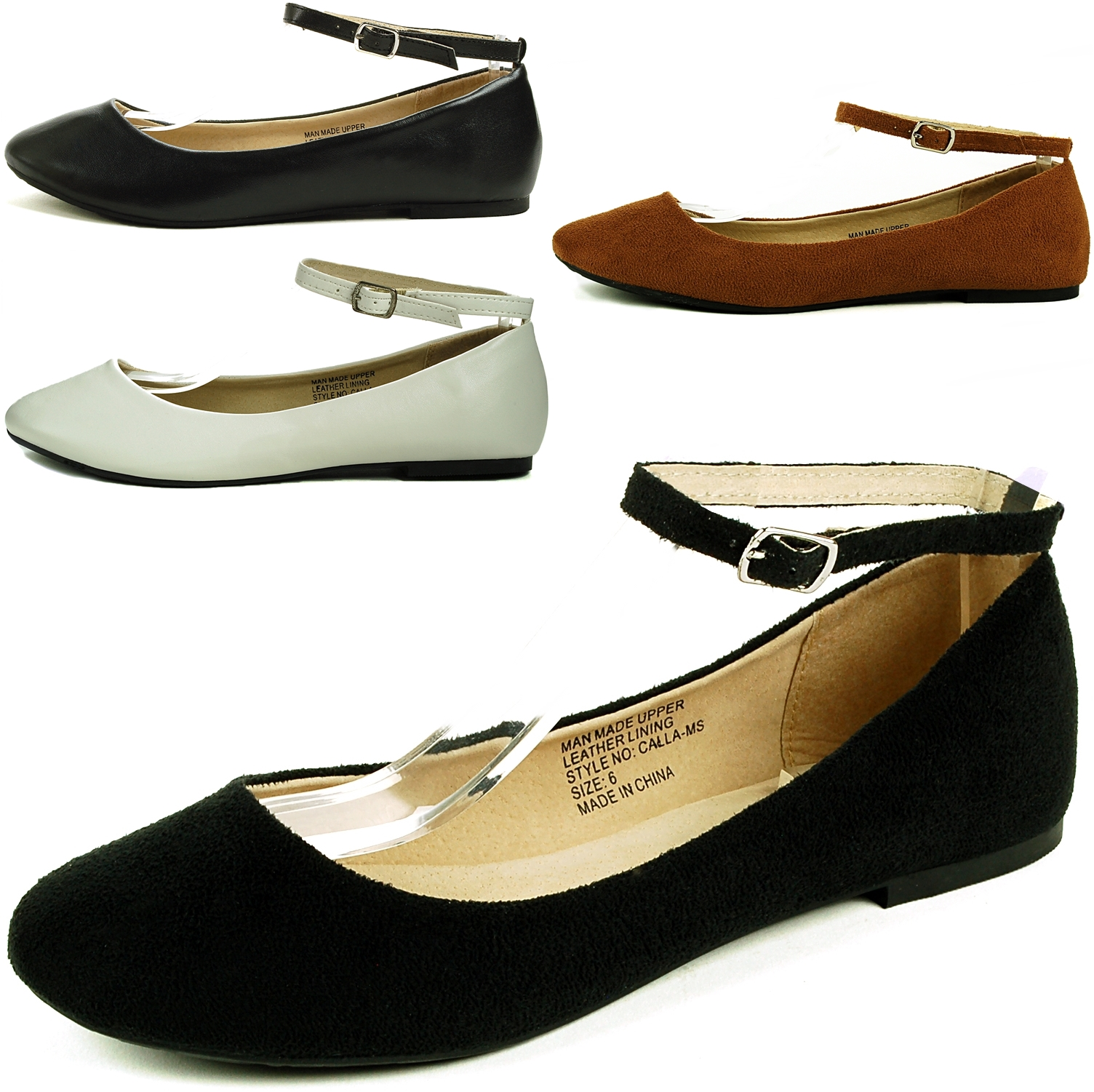ankle strap flats alpineswiss calla womens ballet flats ankle strap shoe classic ballerina  slipper UYWXVPM