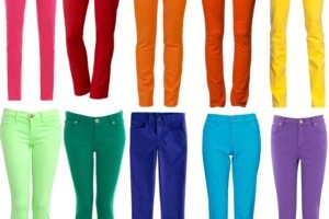 are colored jeans a yes or no? ROXBRLK