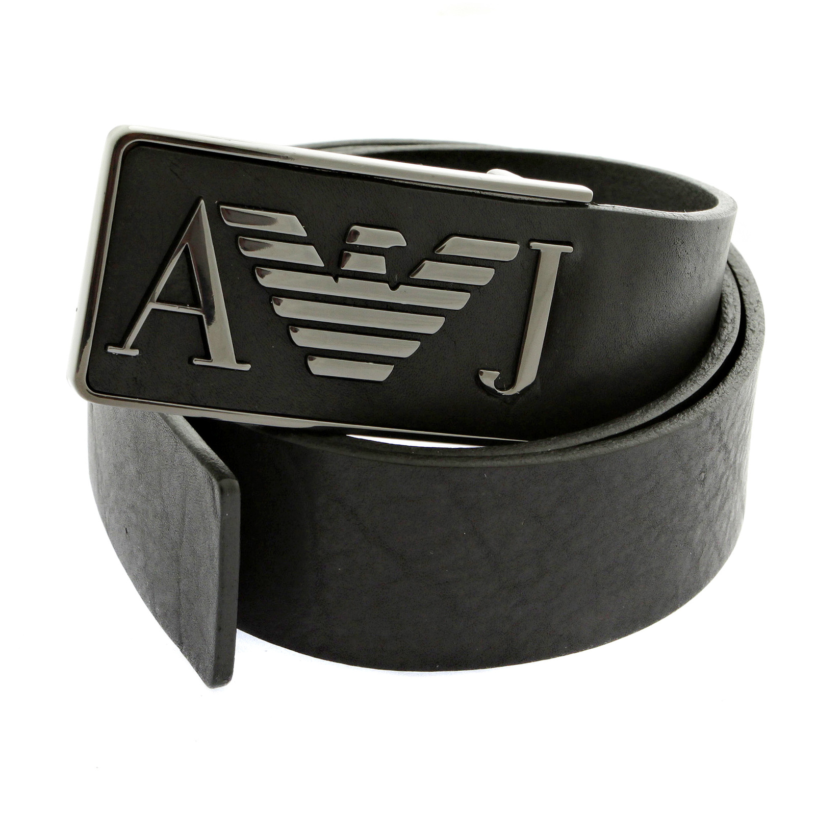 armani belt armani jeans casual black leather belt q6115 60 ajm2253 VWIPEVA