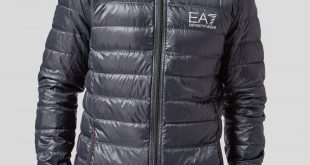 armani jackets emporio armani ea7 bubble hooded jacket | scotts menswear UPISSSB