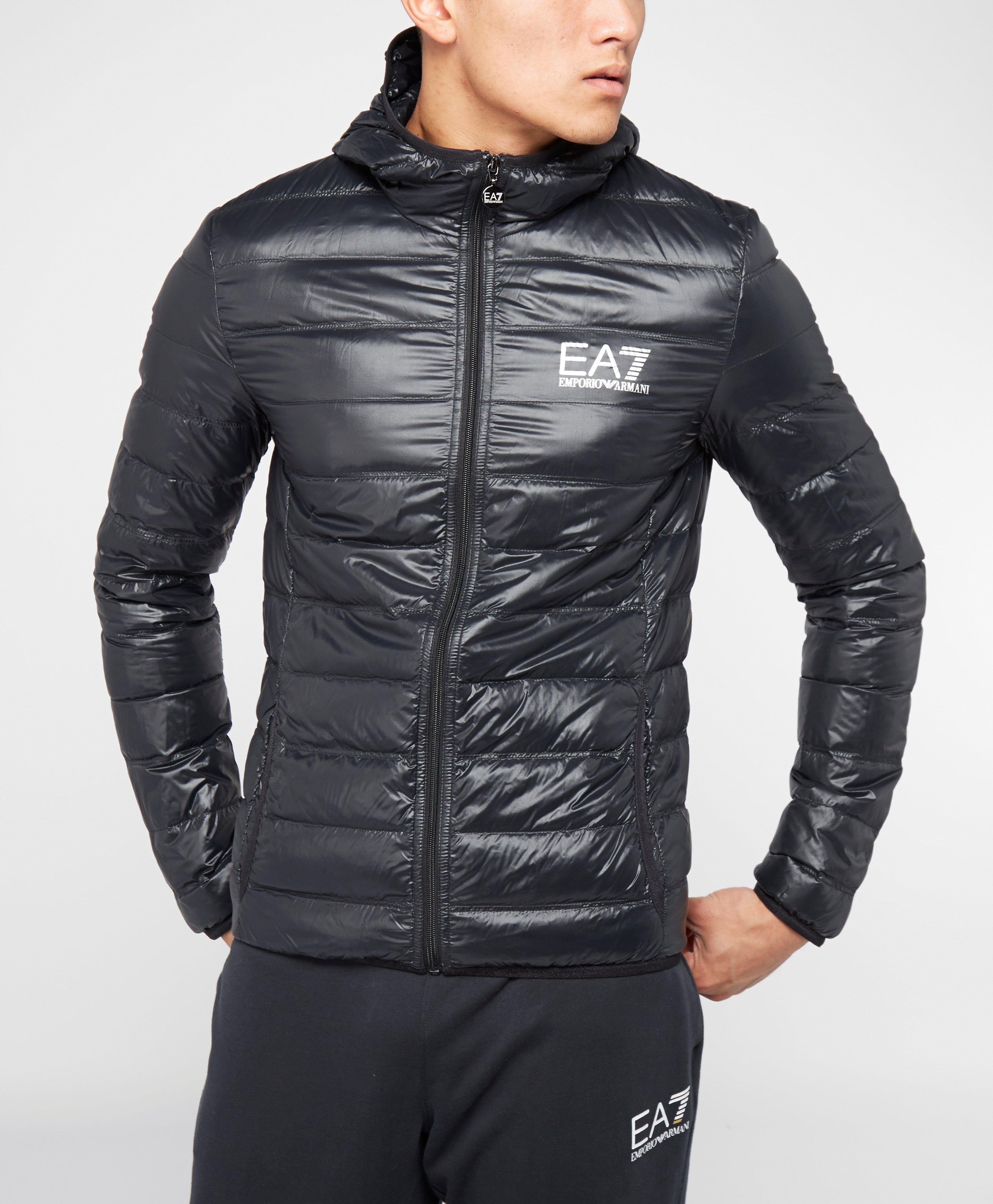 armani jackets emporio armani ea7 down bubble jacket | scotts menswear VIAYNVM