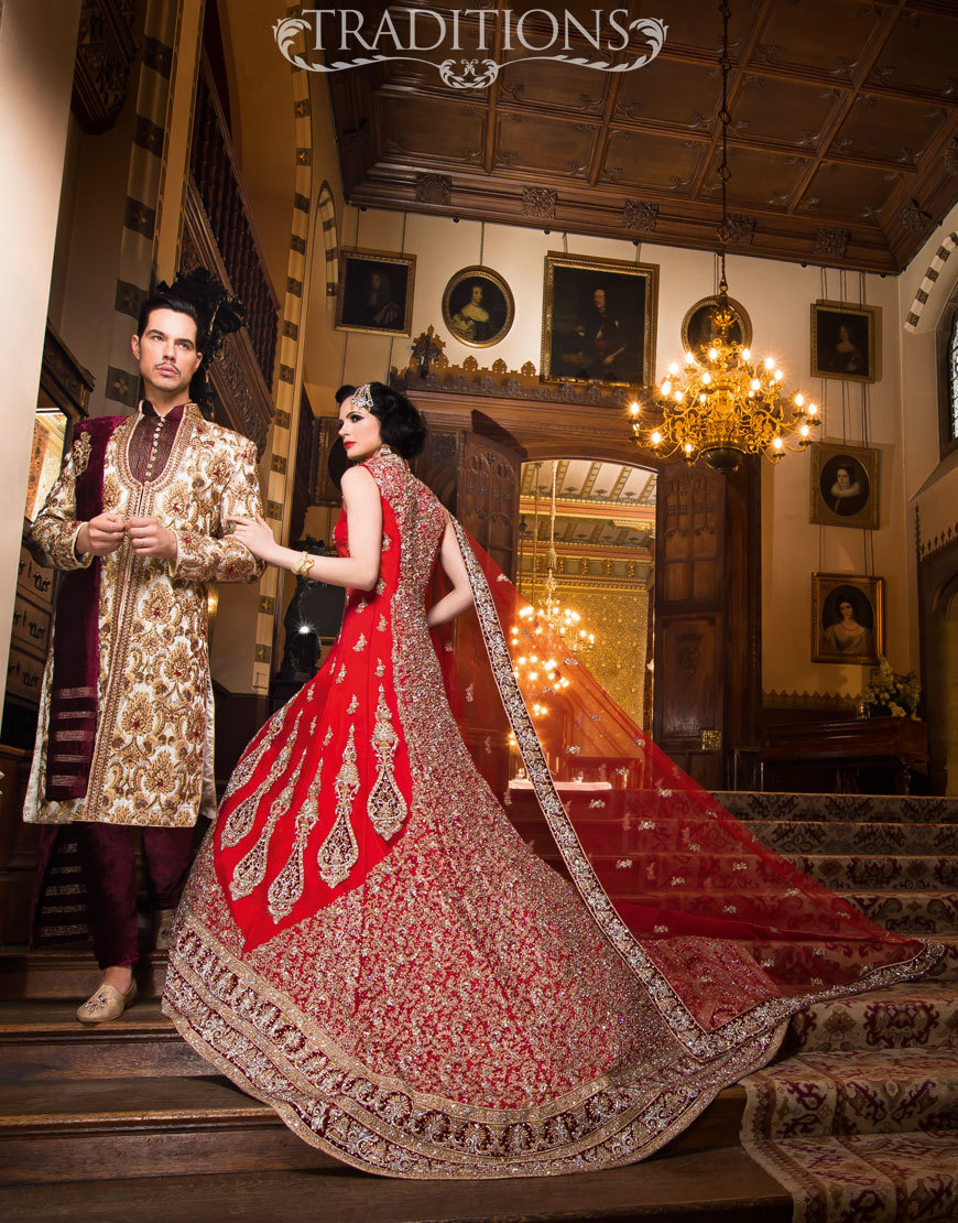 asian wedding dresses red wedding wear for pakistani and indian brides JJUVHQN