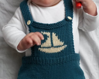 baby onesie, baby romper, knitted baby clothes, photo prop in teal green  merino PWFQWRS