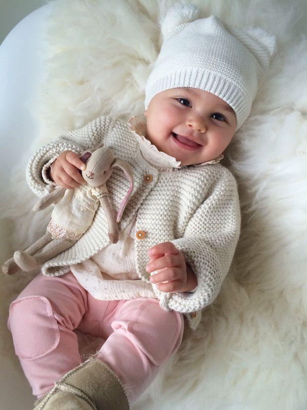 baby winter clothes a smiley and beautiful little baby girl! winter babies ... IWFWPSQ