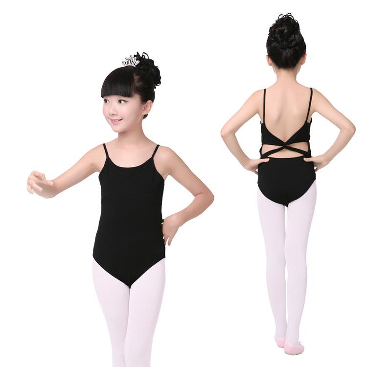 ballet clothes sleeveless black ballet dance leotard ballerina costumes girls ballet  clothes children backless gymnastics leotards JEQKRWN