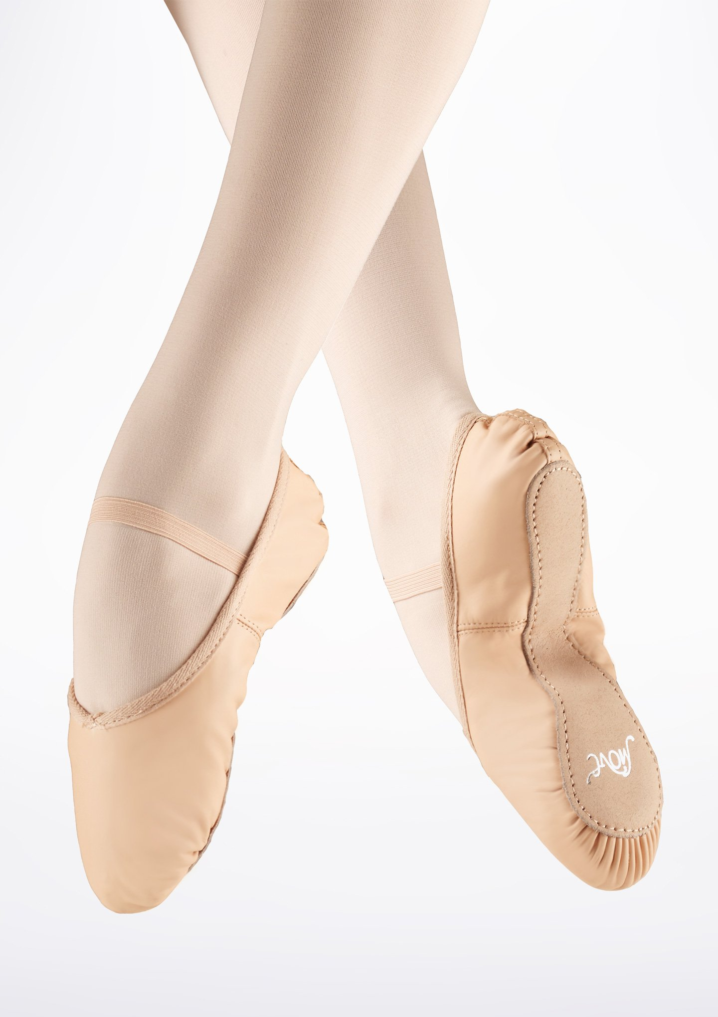 ballet shoes move full sole leather ballet shoe - pink £6.75 NFSJXSE
