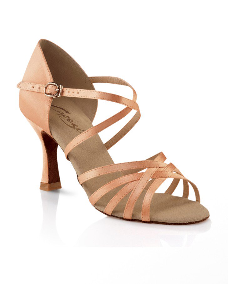 Ballroom shoes-support arches and straps to hold feet