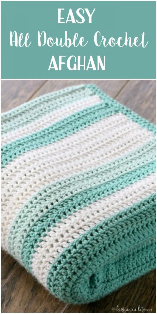beginner crochet patterns all double crochet afghan ESILHTW