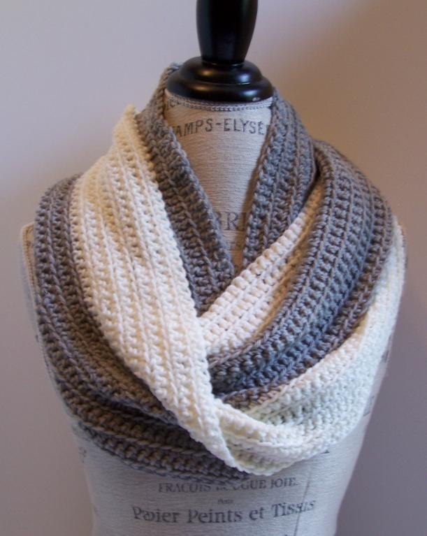 beginner crochet patterns beginner crochet infinity scarf pattern YCWXXIC