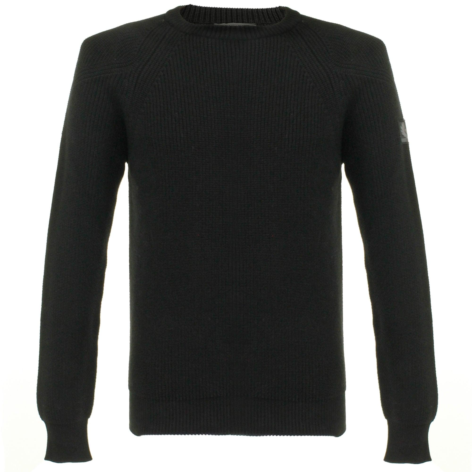 belstaff parkland black jumper 71130372 HYHAPSG