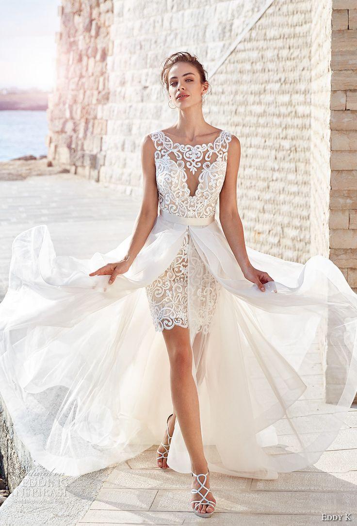 best 25+ short wedding dresses ideas on pinterest | white short wedding  dresses, tea YUSAHMJ