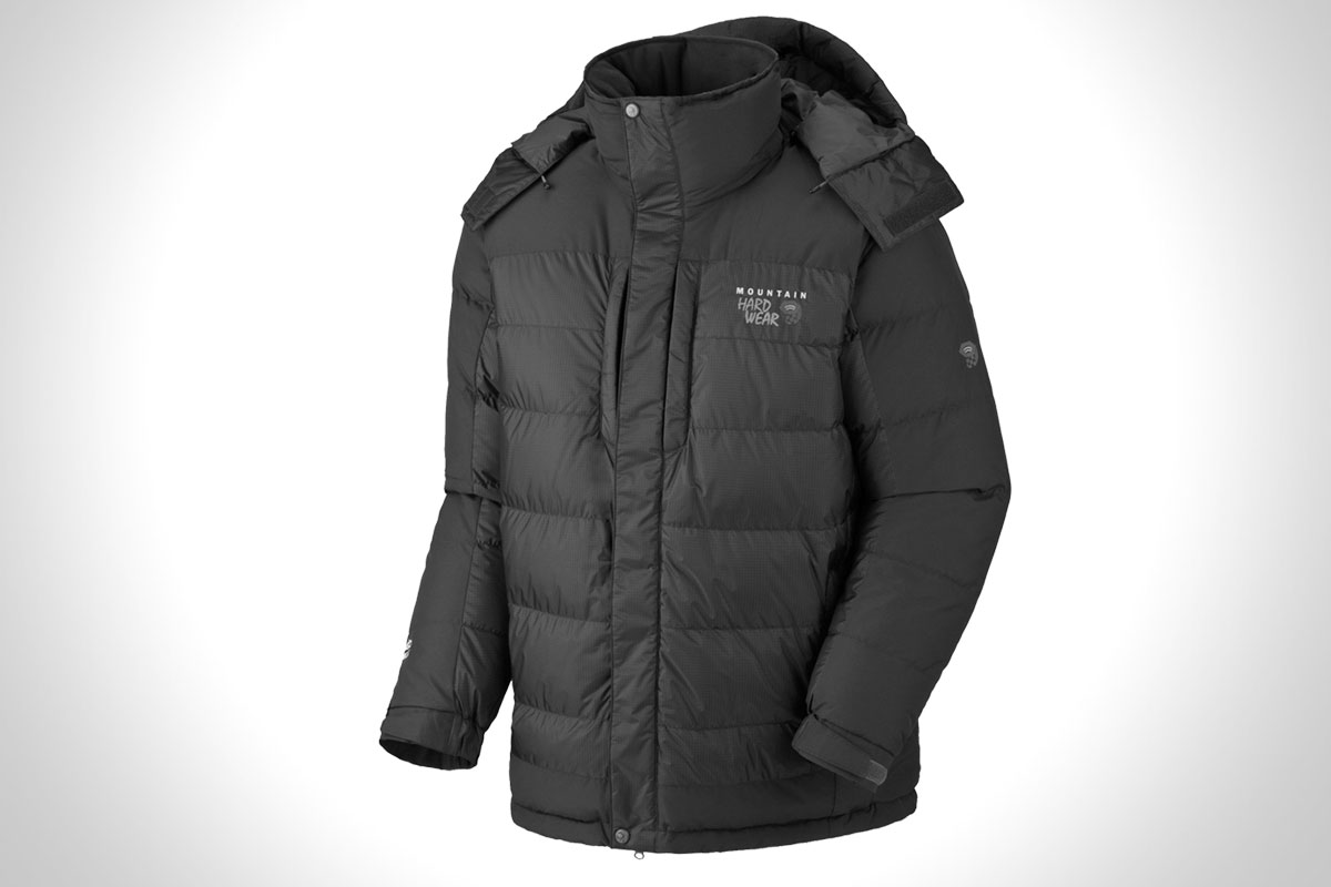 best mens winter coats | mountain hardwear chillwave jacket BOZOAUY